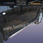 Пороги труба d57 Subaru Forester 2008+