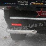 Защита задняя уголки d76 Cadillac Escalade 2006+