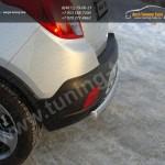 Защита задняя овальная d75х42 мм Opel MOKKA 4WD Turbo 2012+