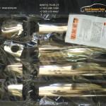 Накладки на ручки Хром - нерж. сталь Тойота AVENSIS 2003 +