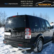 Защита задняя уголки d76 Land Rover Discovery 4 2009+  /295-30