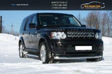 Защита передняя d76 Land Rover Discovery 4 2009+  /295-24