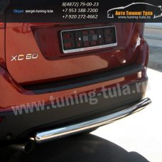 Защита задняя d60 Volvo XC-60 2008+  /295-33