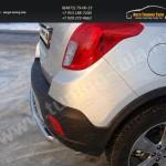 Защита заднего бампера дуга d50.8 мм Opel MOKKA 4WD Turbo 2012+