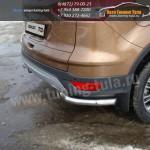 Защита заднего бампера уголки d60,3 FORD KUGA 2013+