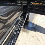 Пороги овальные d75x42 с проступью Subaru Tribeca 2008+