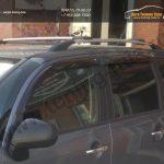 Рейлинги на крышу/алюминиевые наконечники/ Citroёn С3 PICASSO /арт.353-1