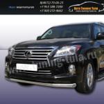 Защита передняя труба d76 Lexus LX-570 2012+