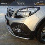 Защита переднего бампера d42,4 мм Opel MOKKA 4WD Turbo 2012+