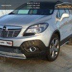 Кант порогов труба d42,4 мм Opel MOKKA 4WD Turbo 2012+