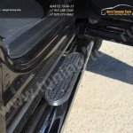 Пороги овальные d120х60 с накладками SUBARU Forester 2013+