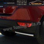 Защита задняя уголки d60 Volvo XC-60 2008+