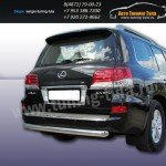 Защита задняя d76 Lexus LX-570 2012+
