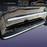 Защита штатного порога d42 Lexus LX-570 2012+
