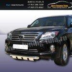 Защита передняя d76 Lexus LX-570 2012+