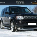 Защита передняя d76 Land Rover Discovery 4 2009+