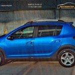 СПОЙЛЕР №1 «KART RS NEW» для Рено Сандеро Степвей / Сандеро 2014+