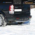 Защита задняя с проступью d76 Land Rover Discovery 4 2009+