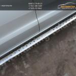 Пороги d120х60 овальные с проступью Ford RANGER  2013+