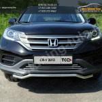 Защита переднего бампера d42.4 мм короткая HONDA CR-V 2012+