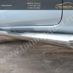 Пороги d76  с накладками Ford RANGER  2013+