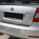 Защита от царапин/Накладка бампера абс-пластик Шкода Octavia A5 2009+