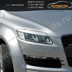 Накладки фар/ресницы/AUDI Q7 2005+