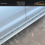 Пороги d42 с листом(алюминий) Ford RANGER  2013+