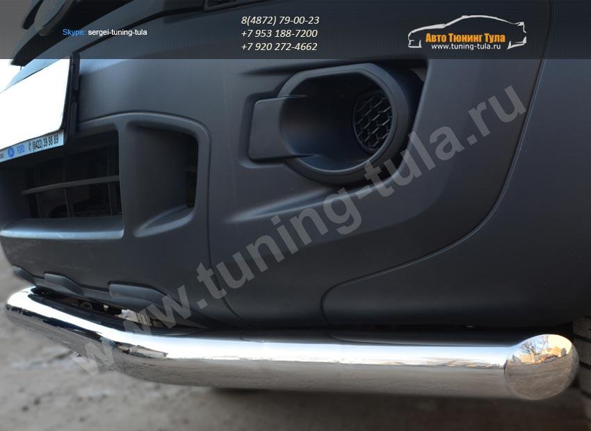 Защита переднего бампера d76 секции Ford RANGER  2013+ /арт.692-4