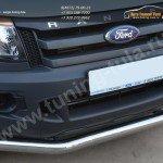 Защита переднего бампера d76 секции Ford RANGER  2013+