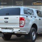 Защита задняя уголки двойные d63 Ford RANGER  2013+