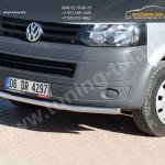 Защита передняя Line d60/ Нерж. сталь / VW T5 Transporter 2003+ 2010+