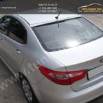 Накладка заднего стекла/ Козырек АБС-пластик / КИА РИО 3 с 2011+