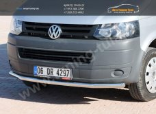 Защита передняя Line d60/ Нерж. сталь / VW T5 Transporter  2010+/ арт.490-2