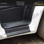 Накладки на пороги от царапин Абс-пластик Peugeot Boxer/Citroen Jumper