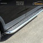 Пороги с площадкой нерж. лист труба  d60,3 мм  HONDA CR-V 2012+