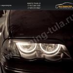 Накладки фар/ресницы/BMW 3 серии E46 1998-2005