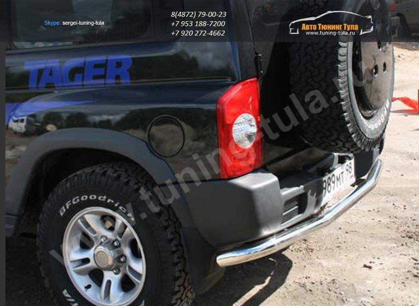 Защита задняя d60 Tagaz TAGER 3D арт/133-9