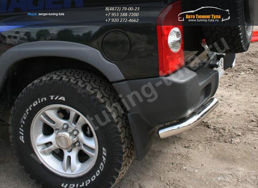 Защита задняя уголки d60 Tagaz TAGER 3D арт/133-10