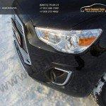 Защита передняя овальная d75x42 Митсубиши ASX 2013+