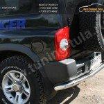 Защита задняя d60 Tagaz TAGER 3D