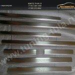 Накладки порогов нерж.сталь/Защита от царапин ПЕЖО 301