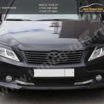 Накладки фар/ реснички / Абс-пластик / Toyota CAMRY VII V50 2012+