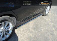 Пороги  труба d60,3 Toyota VENZA 2013+ /арт.706-4