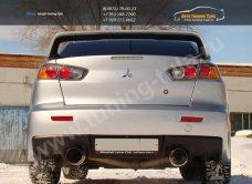 Спойлер /АБС-пластик/ в стиле EVO Mitsubishi LANCER X 2007+ / арт.123-3