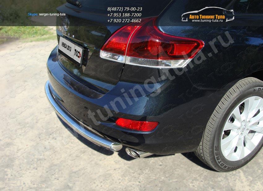 Защита заднего бампера d60.3 Toyota VENZA 2013+ /арт.706-8