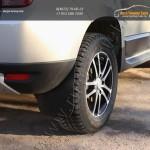 Подкрылки/локера задних колес АБС-пластик+Брызговики 4 шт Рено Дастер / Duster