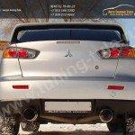 Спойлер в стиле EVO Mitsubishi LANCER X 2007+