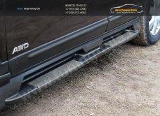 TOPKSR-019000-Комплект порогов /АБС-пластик/ KIA SORENTO R 2010+ /арт.183-1
