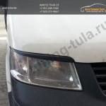 Накладки на фары/Реснички /АБС-пластик/ VW T5 2003-10